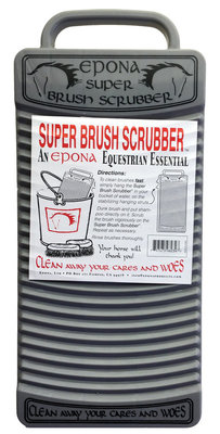 Super Brush Scrubber, Grey