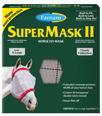 SuperMask II Classic without Ears, X-Large Horse