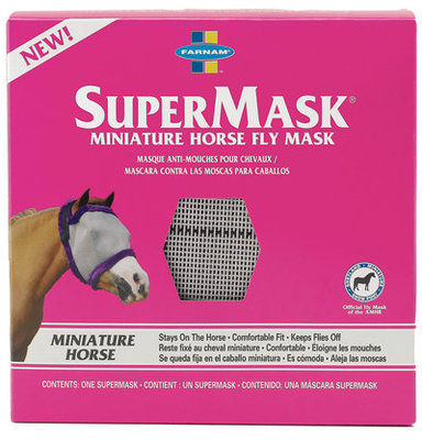 SuperMask Fly Mask w/o Ears, mini size