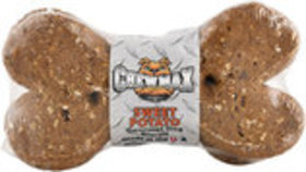 "Chewmax Premium Sweet Potato Biscuits, 4""L, 2 Pack"
