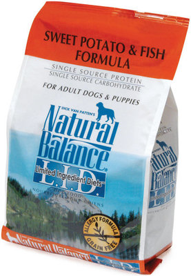 Sweet Potato and Fish Dry Dog Food
