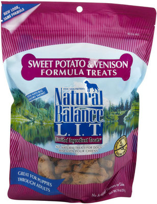 Medium Breed Sweet Potato & Venison Treats, 14 oz