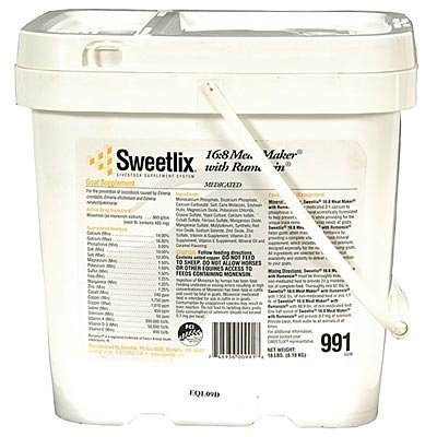Sweetlix 16:8 Meat Maker with Rumensin, 18 lb