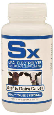 Sx Oral Electrolyte & Nutritional Supplement, 250 mL