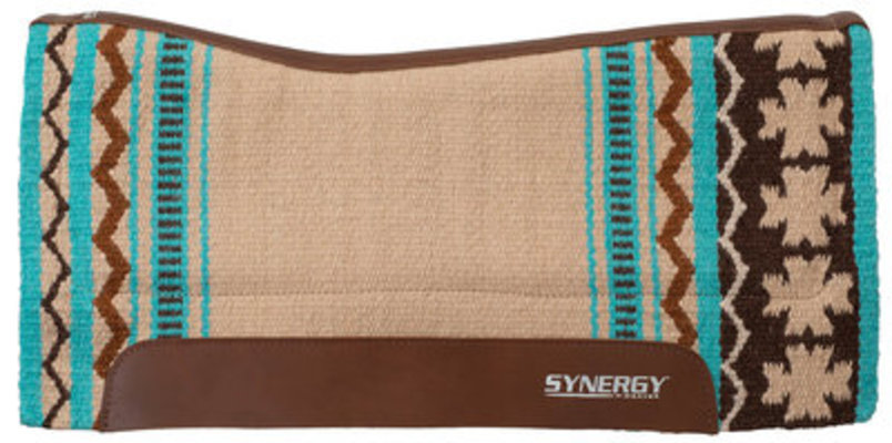 Synergy Contoured Performance Clover Saddle Pad