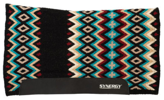 "Synergy Flex Contour Performance Switchback Saddle Pad, 32"" x 34"""