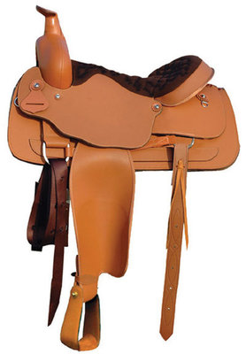 Synthetic Roping Saddle