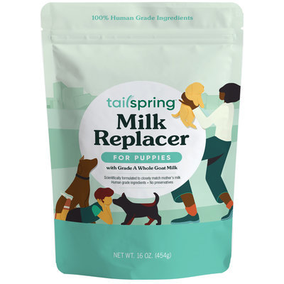 Tailspring Puppy Milk Replacer