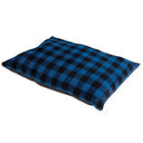 "Tartan Plaid Dog Bed, 37""L x 29""W"