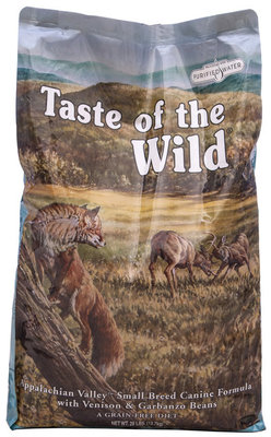 Taste of the Wild Appalachian Small Breed, Small Bite Dog Food, 28 lb