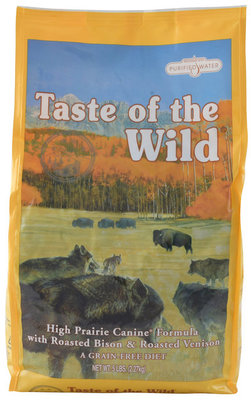 5 lb Taste of the Wild, High Prairie