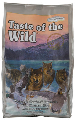 Taste of the Wild, Wetlands Grain Free Dry Dog Food