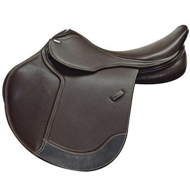 Letek Close Contact Saddle, Brown