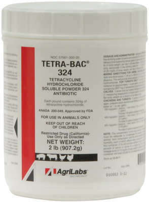 Tetra-Bac 324 Soluble Powder, 5 lb pkg