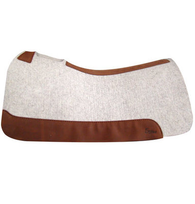 "1"" Roper, (Natural) 5 Star Saddle Pad"