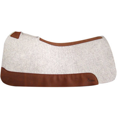 "5 Star Saddle Pad, 7/8"" Roper, (Natural)"