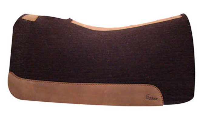 "7/8"" Roper, 5 Star Saddle Pad"