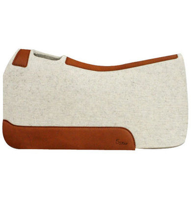 "5 Star Barrel Racer 7/8"" Saddle Pad, Natural"