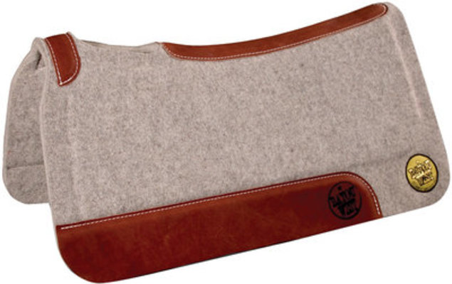 "Hybrid Wool Saddle Pad, Gray, 31"" x 32"""