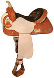 Aurora High Horse Barrel Saddle, Regular 6½""