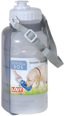 Lixit Thirsty Dog Sport Bottle, 20 oz