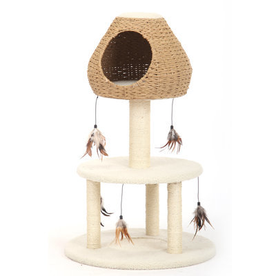 Three Level Cat House with Teasers