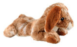 "Thumperz Jumbo Bunnies Plush Dog Toy, 24"" L"