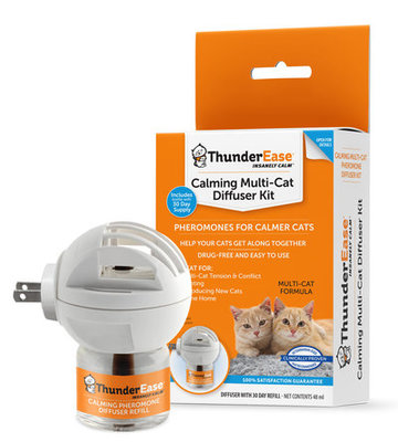 ThunderEase Multi-Cat Calming Diffuser Kit