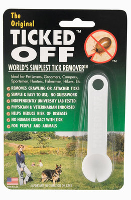Ticked Off - Tick Removal Tool