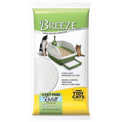 Breeze Litter Pads - 4 count