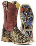 "Tin Haul ""Paisley Rocks"" Women's Boots"