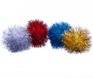 Tinsel Balls, each