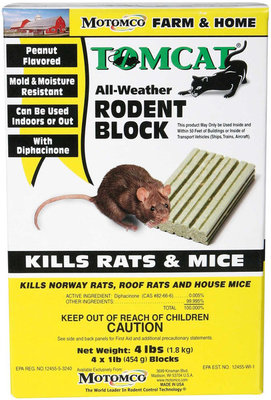 Tomcat® Rodent Block, 4 pack of 1 lb blocks