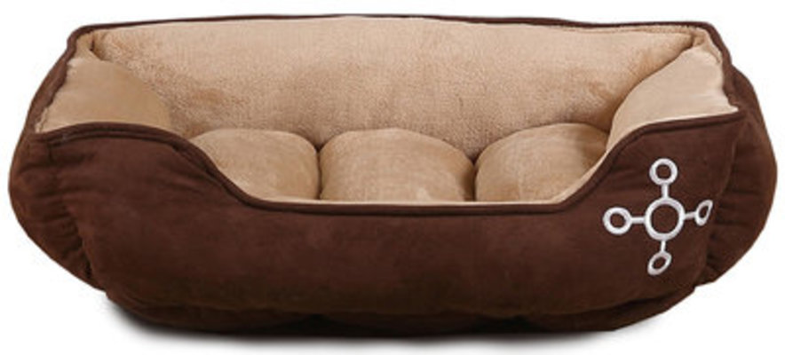 "Tommie Copper Suede Cuddler Pet Bed, 34""x24"""