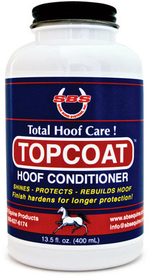 TOPCOAT Hoof Conditioner, 13.5 oz with applicator