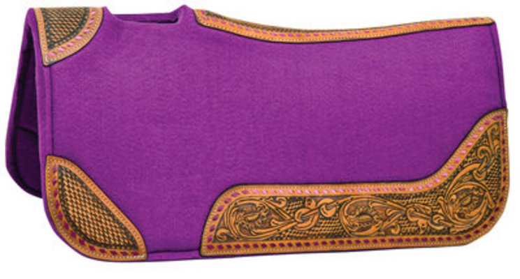 Tough 1 Buckstitch Barrel Saddle Pad