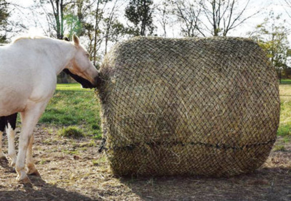 Tough 1 Round Bale Slow Feed Hay Net