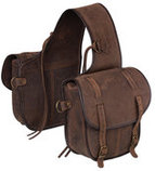 Tough 1 Soft Leather Horse Saddle Bag