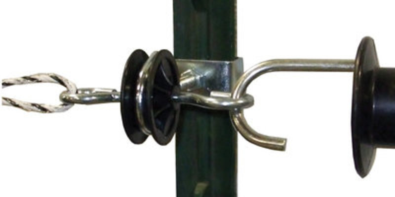 T-Post Gate Anchor, 2 pack