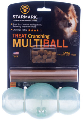 Multiball Large Treat Crunching Toy