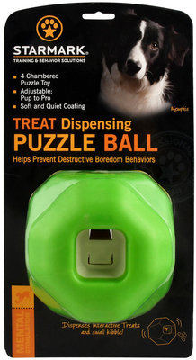 Treat Dispensing Puzzle Ball by Starmark