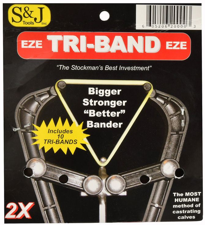 Tri-Band Castration Bander (and Bands) | Jeffers Pet