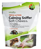 Triple Action Calming Sniffer Soft Chews for Dogs, 60 ct