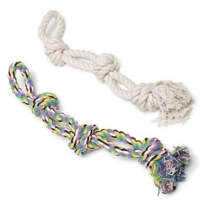 Triple Knotted Rope Bone