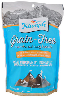 Triumph Grain-Free Chicken, Chickpea & Blueberry Biscuits
