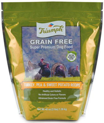 Turkey Triumph Dog Food, 3 lb