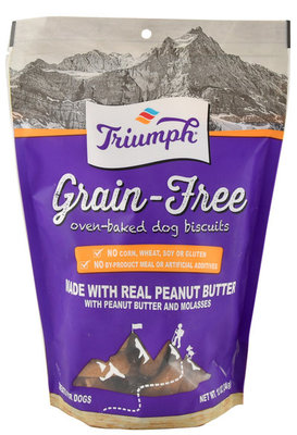 Triumph Grain-Free Peanut Butter & Molasses Biscuits