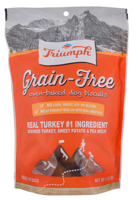 Triumph Grain-Free Turkey, Sweet Potato & Pea Biscuits