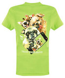 Trust Your Selfie T-shirt, Lime Green