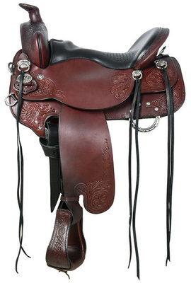 Tucker Custom Horizon North Star Saddle, Wide